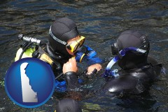 delaware a scuba diving lesson in Monterey Bay, California