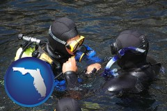 florida a scuba diving lesson in Monterey Bay, California