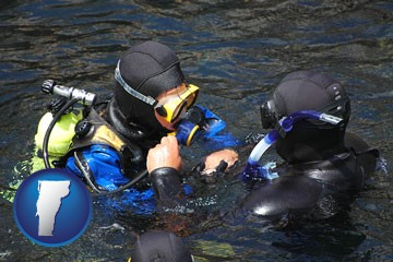a scuba diving lesson in Monterey Bay, California - with Vermont icon